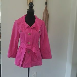 J Crew Pink Lightweight Jacket